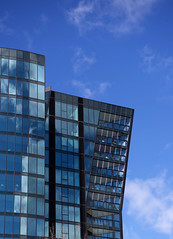 waking up (bobarcpics) Tags: apartmentbuilding curtainwall melbourne melbournearchitecture