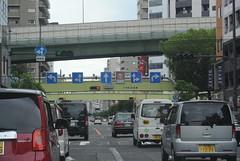 osaka882 (tanayan) Tags: urban town cityscape osaka japan nihonbashi    nikon j1 road street alley