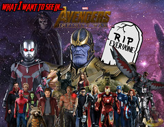 What I Want To See In Avengers: Infinity War (AntMan3001) Tags: what i want to see in avengers infinity war