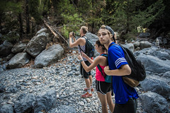 DSC_1258 (Dan Kistler) Tags: samaria gorge hiking rocks sea adventure principia college travel greece