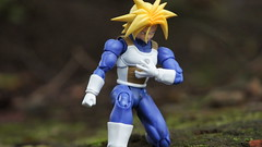 Trunks is resting (malikalayli) Tags: park ueno tokyo figures action toys forest dragonballz dragonball trunks