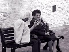 (Luca3803) Tags: nonna white black blackandwhite abruzzo square place piazza pomeriggio bench relax panchina anziani anziane anzianit nonne grandma italy italia donne nero bianco biancoenero