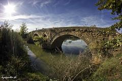 Keramidi (kzappaster) Tags: bridge sun river star samsung fisheye greece 8mm stonebridge trikala thessaly samyang farkadona nx100 enipeas 8mmf28 keramidi samsungnx samsungnx100 samyang8mmf28umcfisheye