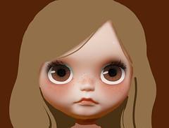 Next girl : Cello doodle (Piticrunchy) Tags: very doodle blythe custom vicky fbl sketche piticrunchy
