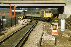 73133 Gatwick Airport (date unknown) (Paul-Green) Tags: photo airport br diesel picture engine rail loco trains class scan scanned electro british locomotive railways 73 gatwick 73133