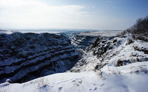 Gorge below Saghmosavank monastery