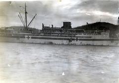 Hospital ship Manunda, Milne Bay, 1942 (Blue Mountains Local Studies) Tags: hospital ships ww2 png manunda