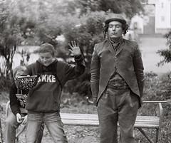 """Charly and I"" (igalashev) Tags: street festival theatre international 2012 arkhangelsk atölyesi sanatları sokak"