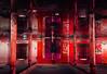 redrum ( the caretaker ) (Kriegaffe 9) Tags: windows red water reflections blood explore horror gasmask pillars urbex bassmaltings