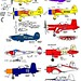 Air-racers, racing planes, update 2 colored-in