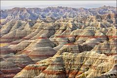 the badlands (_esse_) Tags: usa southdakota colours wind dry ground hills badlands terra colori colline vento secca calcare arida brulla