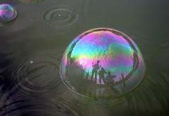 (Sue Bahrin) Tags: morning lake reflection water 50mm rainbow weekend bubbles kualalumpur f18 waterdroplets lalang weekendactivities desaparkcity amirafiq shaznizainal fariznasir kaptenbuehbossa