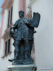 """Sculpture by Mariazell Basilica"" (wesolowski.matt) Tags: sculpture church monument austria sterreich kirche mariazell posg rzeba"