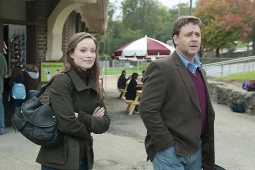 Actress Olivia Wilde and Actor Russell Crowe in  The Next Three Days