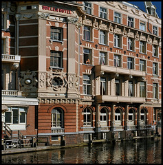 Amsterdam is called Venice of the North or  I've been waiting for a girl like you (martin alberts1) Tags: amsterdam veniceofthenorth doelenhotel martinalberts blinkagain
