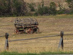 Old Wagon, Near Ennis, Montana (teresue) Tags: montana mt ennis 2012