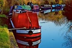 _DSC2341 (SAM Images) Tags: bridge horse black boats canal miltonkeynes union grand greatlinford