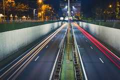 [90/365] (Kyman Cheng) Tags: longexposure netherlands car canon eos highway long 28mm den denhaag hague haag thehague the expsure canon28f18 550d canonef28mmf18usm canon550d canoneos550d