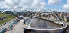 Newcastle Bridges (Hi I'm Santi) Tags: uk bridge england river newcastle united kingdom millenium sage tyne gateshead olympics