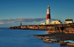 Portland Bill (Mark A Jones (Andreas Jones Photography)) Tags: sea england cliff lighthouse seascape sunrise portland landscape dawn big nikon rocks coastal dorset weymouth englishchannel stopper jurassiccoast portlandbilllighthouse dorsetcoast portlandlighthouse leefilters d700 leebigstopper