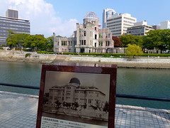 Before and after (digibron) Tags: japan hiroshima beforeandafter abombdome