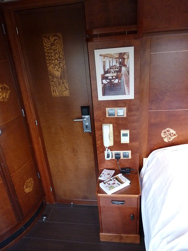 AL Andalus - luxury train in Spain - Superior Suite, a/c, phone, music