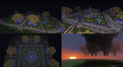 Floating Palace (Drm Relier Crescer) Tags: world trees water giant floating palace glowing