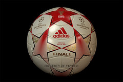 UEFA CHAMPIONS LEAGUE FINALE MOSCOW 2008 ADIDAS MATCH BALL 01 (ykyeco) Tags: ball football fussball top moscow soccer ballon match bola adidas finale 2008 uefa league champions pelota palla balon pallone    omb   spielball