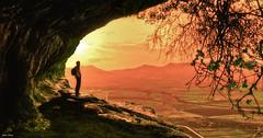 My Last Sunset ... (Legi.) Tags: sunset atardecer nikon san campo 1855mm 1855 cuevas moratalla bajil jun zan d5100 fotoencuentrosdelsureste