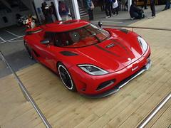 Agera R (BenGPhotos) Tags: show red car festival speed swedish exotic r fos rare supercar v8 goodwood koenigsegg 2012 hypercar agera