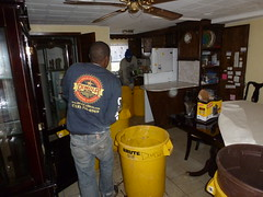 Empty entire home after Sandy flooding in Queens NY (The Trash it Man) Tags: hurricane cleanup howardbeach hurricanecleanup flooddamagecleanup hurricanesandy sandyaftermath hurricaneflooddamage
