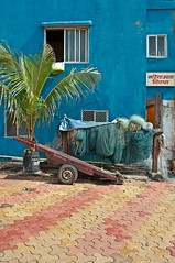 Worli Fishing Village, Mumbai, India (Colin Roohan) Tags: travel india nikon monsoon esplanade boardwalk journalism worli nashik arabiansea bandi d90 gatwayofindia worlifishingvillage