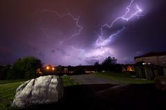 Lightning Madness (CodyErvin) Tags: sky cloud storm weather rock night landscape skies nighttime bolt thunderstorm lightning cody pursuit crawler ervin turbulent