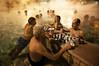 Wet Chess (Tony N.) Tags: hot men water pool hotwater four bath hungary budapest chess steam spa piscine bains magyarorszag szechenyi varosliget hongrie vapeurs szechenyibath nikkor175528 d300s bainsszechenyi