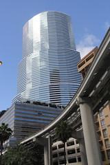 Miami Tower - Miami, Fl (twiga_swala) Tags: city usa building tower skyscraper architechture downtown florida miami bank american highrise fl tall dade