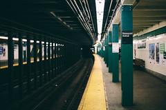 Greenpoint Ave (courtody) Tags: nyc newyorkcity usa newyork brooklyn underground subway december perspective line williamsburg mta gothamist 365 gotham curve oneyear 2012 greenpointave littlepoland 366 3651 365project 3651project 366project 5dmarkiii courtneytight