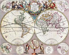 Antique Maps (divinumphoto) Tags: map mapoftheworld antiquemapsoftheworld johnseney c1721