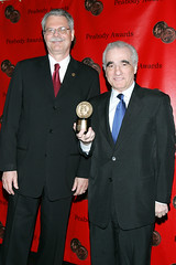 Horance Newcomb (Peabody Awards Director),Martin Scorsese (Peabody Awards) Tags: usa ny newyork award martinscorsese horancenewcomb