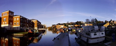 Panorama around Diglis Basin (CoasterMadMatt) Tags: city greatbritain autumn england panorama west building english architecture photography town canal december photos unitedkingdom britain united great panoramas kingdom panoramic structure basin photographs british worcestershire westmidlands worcester 2012 midlands panoramics diglis birminghamandworcester birminghamworcestercanal diglisbasin cityofworcester coastermadmatt