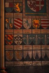 Wall decorations, Bonner Mnster (Forest Pines) Tags: church germany deutschland bonn catholic christian nrw christianity minster nordrheinwestfalen mnster romancatholic northrhinewestphalia bonnermnster bonnminster