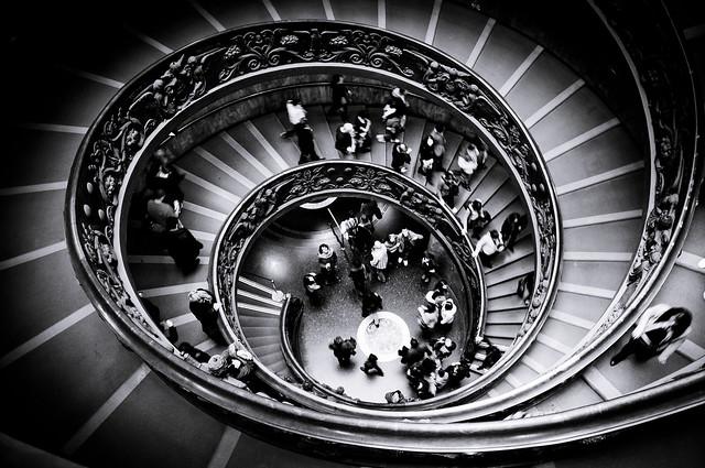 La vita è fatta a scale.