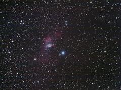 NGC7635 Bubble Nebula (bap_mundy) Tags: classic canon eos telescope nebula astrophotography bubble astronomy deepspace meade lx200 ngc7635 40d autoguider starshoot