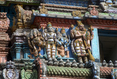 Story Carving on Temple Gopuram (VinayakH) Tags: halasurusomeshwaratemple bangalore india ulsoor chola vijayanagaraempire kempegowda hindu shiva temple hinduism