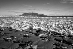 eden on the bay16 (WITHIN the FRAME Photography(5 Million views tha) Tags: seascape beach pov landscape pebbles mountainscape capetown southafrica tablemountain iconic wide foam surf sand coastal fuji xt1