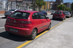 Seat Ibiza (Jusotil_1943) Tags: coches cars redcars