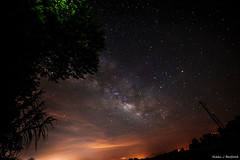Milky Way over a light polluted southern sky (taintedlove2011) Tags: milkyway lightpollution nightsky starrysky galaxy nightscapes ga astrophotography nightphotography rokinon14mm28 summer nature canon6d