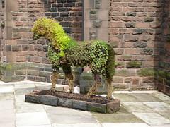 """Foal-iage"" (Thomas Kelly 48) Tags: panasonic lumix fz150 woolton liverpool horse foliage foaliagehorse stjameschurch"