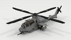 AH-1Z Super Cobra (TheRookieBuilder) Tags: ah1z supercobra helicopter military lego legodigitaldesigner ldd ldd2povray render