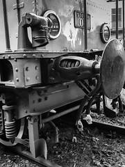 Rome: the old train (ezio.scotti) Tags: 2016 anni bw lazio roma stazioni trenietram veicoli