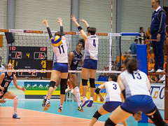 27252142 (roel.ubels) Tags: volleybal volleyball nederland oranje holland zuidkorea southkorea rotterdam topsportcentrum sport topsport 2016